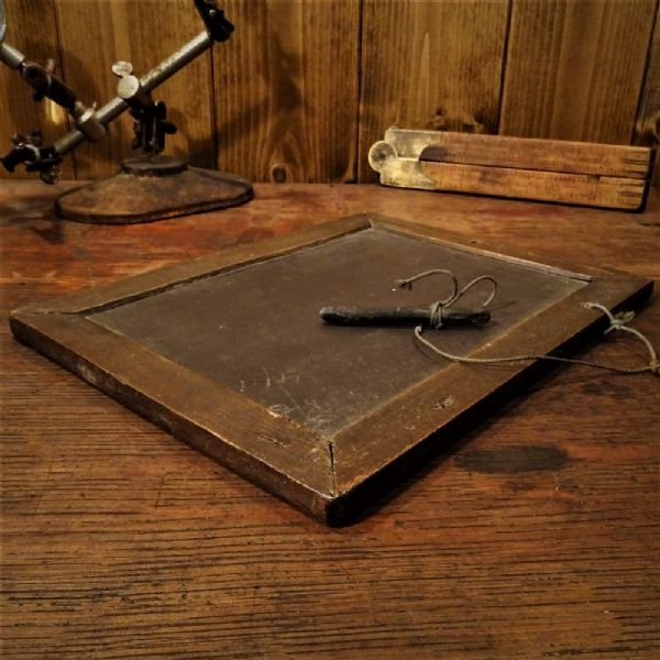 School Slate Writing Board and Pencil